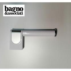 Bagno & Associati CLASS uchwyt na papier toaletowy CL23526 BIAŁY/CHROM