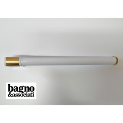 Bagno & Associati CLASS uchwyt łazienkowy na ręcznik L-35cm CL21540 BIAŁY/ZŁOTY
