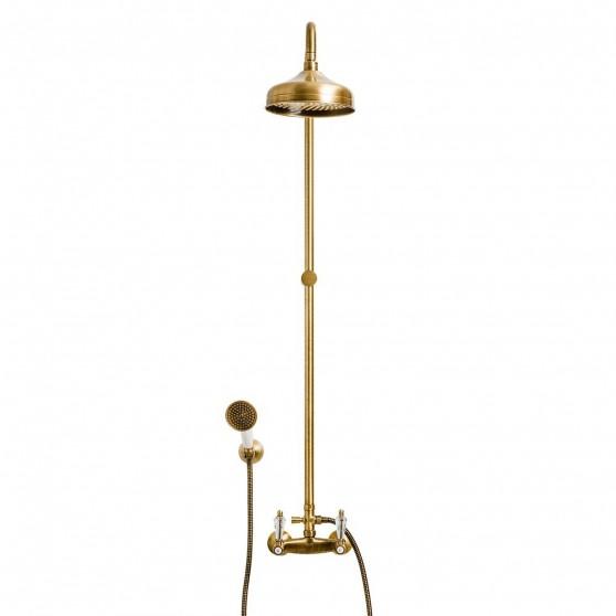 Kolumna natryskowa z baterią prysznicową Fiore Gioielli 08 CR 0620