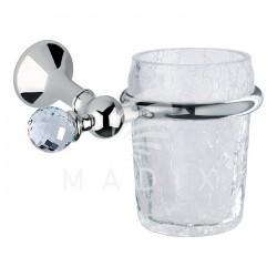 Bagno Associati Kubek szklany wiszący Folie Swarovski FS 145