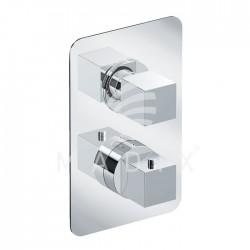 Bateria prysznicowa termostatyczna podtynkowa (2 wyjścia) Eurorama Tono PE750055NQMESLR