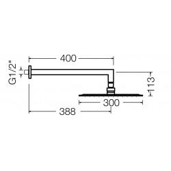 Bateria wannowa 4 - otworowa Eurorama Blitz 141250