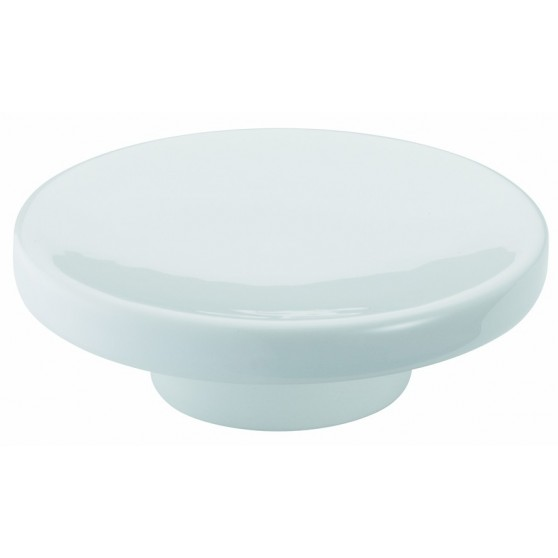 Bagno Associati Mydelniczka ceramiczna stojąca Tratto TR 722 chrom