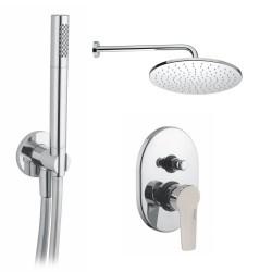 GABOLI LUIGI UNIKA komplet prysznicowo/wannowy, UK 71 chrom