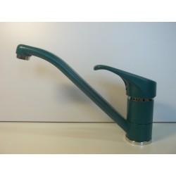 Bateria zlewozmywakowa zielony/chrom FRISONE EMPTY EM0025 V