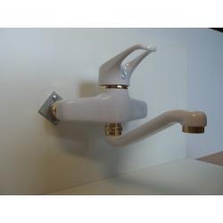 Bateria umywalkowa biały/złoto FRISONE EMPTY EM2024