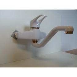 Bateria umywalkowa biały/złoto FRISONE EMPTY EM2022