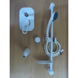 Frisone Zestaw podtynkowy biały /złoto  EMPTY 0013