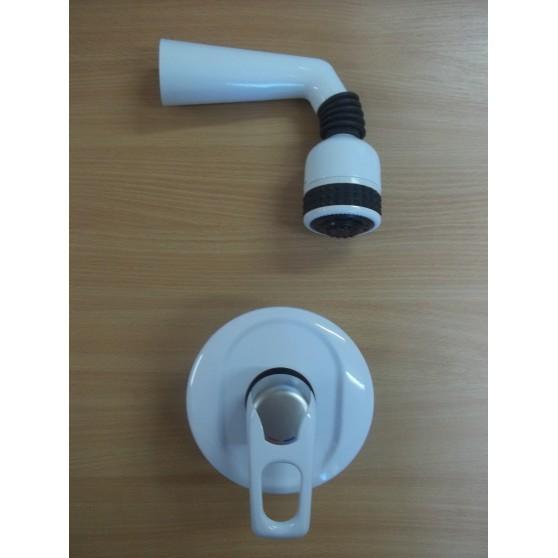 Zestaw podtynkowy biały/chrom Frisone EXEL 2515