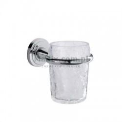 Bagno Associati Kubek szklany wiszący Preziosa PR 14551 CHROM
