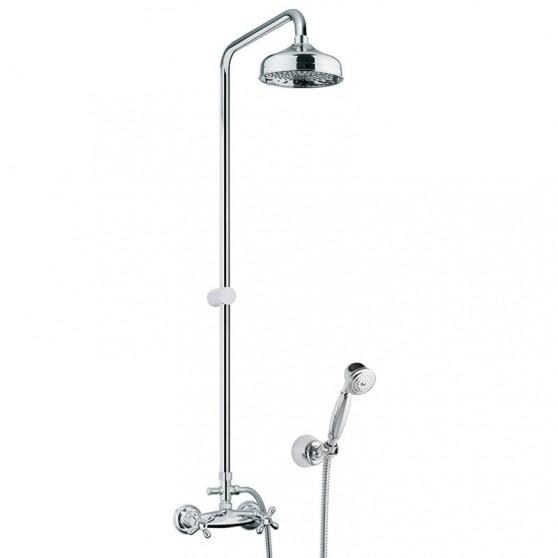 Kolumna natryskowa z baterią prysznicową Fiore Margot Sky 01 CR 0621