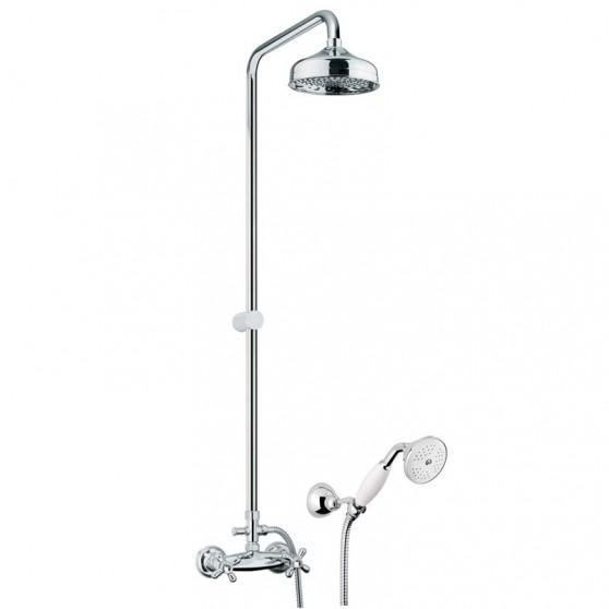 Kolumna natryskowa z baterią prysznicową Fiore Margot Sky 01 CR 0620