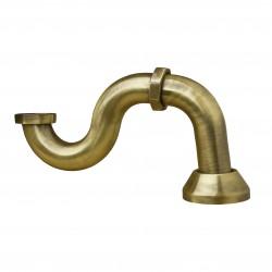 SILFRA syfon umywalkowy złoty AC03152 OUTLET! stare złoto