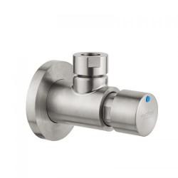 IDRAL H2O kurek ścienny natryskowy, czasowy, natynkowy, stal szczotkowana 08420-15