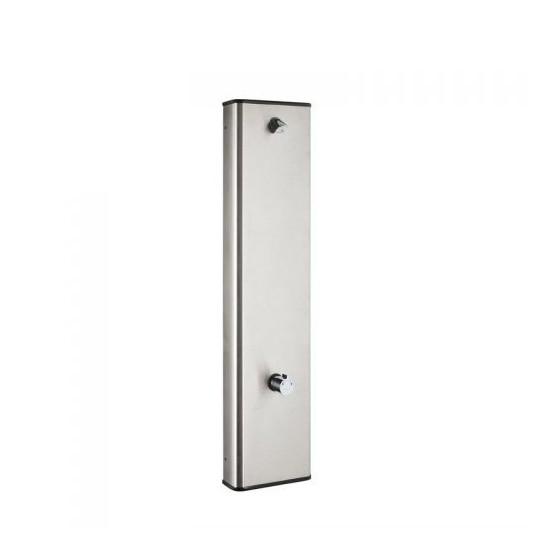 IDRAL H2O panel natryskowy czasowy, inox 09212