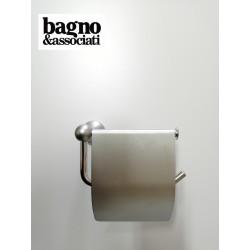 Bagno & Associati Regency wieszak na papier toaletowy z klapką, chrom matowy RE23656 RE23656