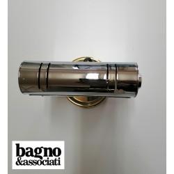 Bagno & Associati CLASS kinkiet wiszący chrom/ złoto 51339