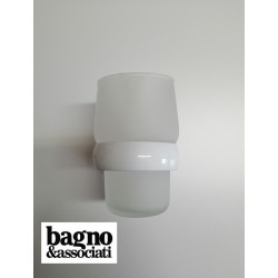 Bagno & Associati STUDIO kubek wiszący biały/chrom ST14326