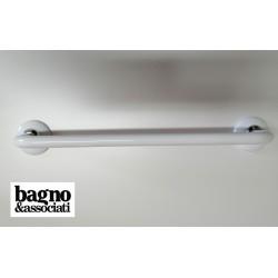 Bagno & Associati STUDIO wieszak na ręcznik L45 ST21126  biały/chrom