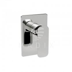 Zestaw łazienkowy LA TORRE LAGHI bateria umywalkowa wysoka + bateria prysznicowa ścienna, chrom ZLAG1