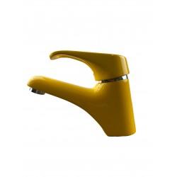 Bateria umywalkowa żółty/chrom FRISONE EMPTY EM2000