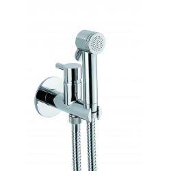 FIORE XENON zestaw prysznicowy punktowy z mieszaczem chrom lub stal szczotkowana 30CR5158