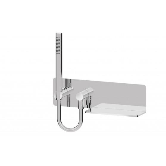 Sphera zestaw prysznicowy punktowy FIX-FIT z półką DP5720