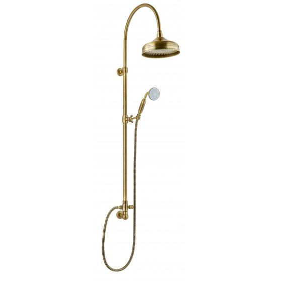 Sphera kolumna prysznicowa w kolorze stare złoto z deszczownicą CL2136OA