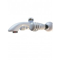 Eurorama CRESO Bateria wannowa biały/chrom 70215