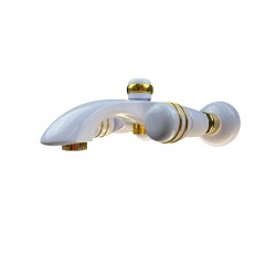 Eurorama CRESO Bateria wannowa biały/złoto 70215